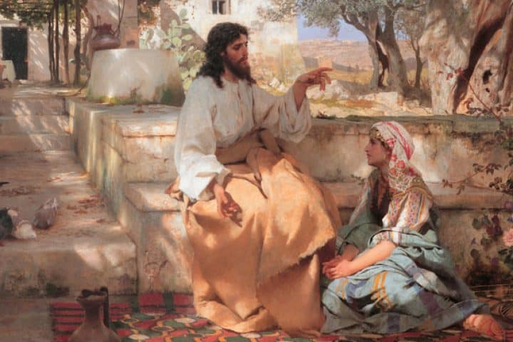 Martha og Jesus